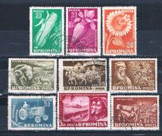 Romania 1269-77 Used Set Collective Farming 1959 CV 2.60 (HV0230) - Romania