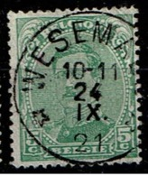 137  Obl Relais  Wesemael - 1915-1920 Albert I