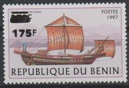 Bénin 2005 Mi. 1380 Bateau Boot Boat Rome Empire Romain Römer Surchargé Overprint MNH** - Benin - Dahomey (1960-...)