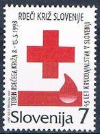 Slovenia RA15 MNH Red Cross 1998 (S0983)+ - Slovenia