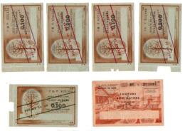 Tickets De Rationnements - Oude Documenten