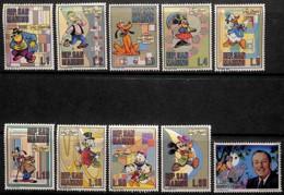 [811108]Saint-Marin 1970 - N° 769/78, Walt Disney, Mickey, Donald, ... SC, Art, Bandes Dessinées - Disney