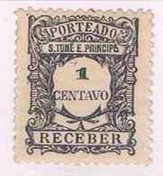 Saint Thomas And Prince Is J43 MLH Numeral 1921 (S0897) - Sao Tome And Principe