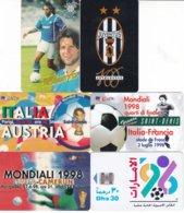 SCHEDE TELEFONICHE E TESSERE VARIE TEMATICA SPORT N° 6 MISTE - Sport
