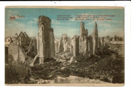 CPA-Carte Postale-Ieper- Ruine De L'Eglise St Jacques Et L'école St Joseph 1914-18 -VM9310 - Ieper