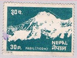 Nepal 363 Used Mount Pabil 1979 (BP32318) - Nepal