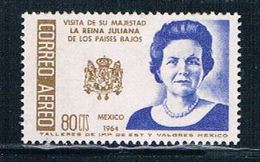 Mexico C283 MNH Queen Juliana CV 1.25 (M0154)+ - Mexico