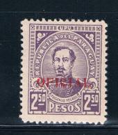 Paraguay O98 MNH Fulgencio Yegros (GI0190)+ - Paraguay