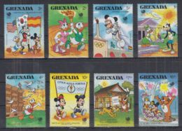 J22. Grenada - MNH - Cartoons - Disney's - Olympics - Disney