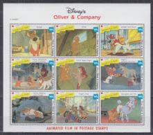 K22. St Vincent - MNH - Cartoons - Disney's - Animated Movies - 1 - Disney
