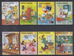 L22. Antigua & Barbuda - MNH - Cartoons - Disney's - Characters - 5 - Disney