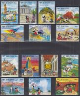 L22. Bhutan - MNH - Cartoons - Disney's - Characters - Around The World - Disney