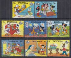 L22. Tanzania - MNH - Cartoons - Disney's - Characters - 1 - Disney
