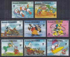 M22. Grenada - MNH - Cartoons - Disney's - Characters - Sports - Disney