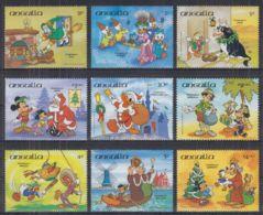 N22. Anguilla - MNH - Cartoons - Disney's - Christmas - Disney