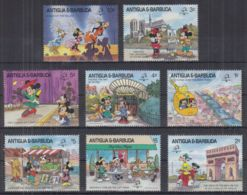 N22. Antigua & Barbuda - MNH - Cartoons - Disney's - Architecture - Disney