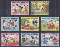 N22. Antigua & Barbuda - MNH - Cartoons - Disney's - Christmas - Disney