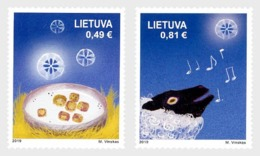 H01 Lithuania 2019  Holy Christmas And New Year 2019 MNH Postfrisch - Lituania