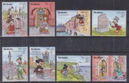 N22. Gambia - MNH - Cartoons - Disney's - Characters - Landscapes - Disney