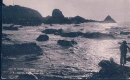 POSTAL JAPON - SIGHT OF SHIO NO MISAKI BEACH - NAGOYA - VISTAS DE SHIO NO MISAKI PLAYA - PESCADORES - Nagoya