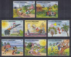 P22. Grenada - MNH - Cartoons - Disney's - Characters - 3 - Disney