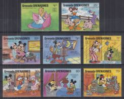 P22. Grenada - MNH - Cartoons - Disney's - Characters - 4 - Disney