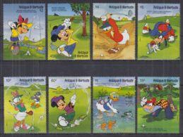 S22. Antigua & Barbuda - MNH - Cartoons - Disney's - Characters - Golf - Disney