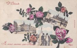 D'Ostende Je Vous Envoie Ces Fleurs Circulée En 1907 - Oostende