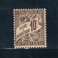 Algeria J2 Unused Postage Due 1926 (A0333)+ - Algeria (1924-1962)