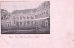 Namur Maison Saint François Xavier Rue Pepin 15 Rare Circulée En 1905 - Namur