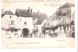 Pesmes (70 - Haute Saône) La Porte St Hilaire - Pesmes