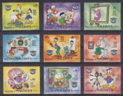 U22. Maldives - MNH - Cartoons - Disney's - Characters - 4 - Disney