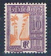 Guadeloupe J28 MLH Ave Of Palms 1928 (G0355)+ - Unclassified