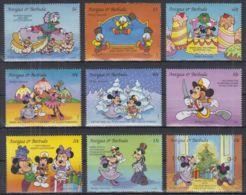 V22. Antigua & Barbuda - MNH - Cartoons - Disney's - Characters - Disney