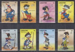 V22. Lesotho - MNH - Cartoons - Disney's - Characters - Disney