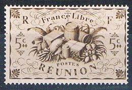 Reunion 224 MLH Produce Of Reunion 1943 (R0438)+ - Reunion Island (1852-1975)