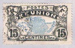Reunion 68 Used Map Of Reunion 1907 (BP3048) - Reunion Island (1852-1975)