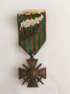 Medaille Grande Guerre 1914 1917 3 Citations - France