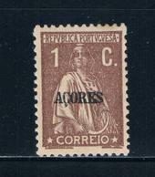 Azores 158 MLH Ceres Overprint (GI0324)+ - Azores