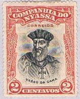 Nyassa 110 MLH Vasco Da Gama 1921 CV 1.00 (BP3793) - Nyassa