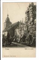 CPA-Carte Postale-Belgique-Crupey- Eglise Et Grotte Début 1900-VM9315 - Assesse