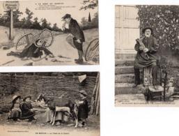 Lot De 9 Cartes Sur Le MORVAN 1929 - France