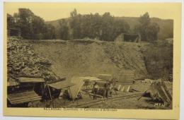 C. P. A. : 19 ALLASSAC : Carrières D'Ardoises, Animé, SUPERBE - Autres Communes