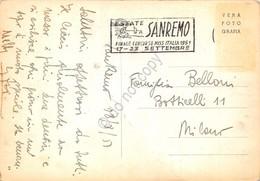 Cartolina San Remo Panorama Timbro A Targhetta S. Remo Miss Italia 1951 - Imperia