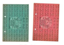 Tickets De Rationnements D'ALSACE - Collections