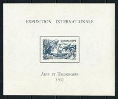 Guadalupe (Francesa) Nº HB-1 Nuevo* Cat.10€ - Guadeloupe (1884-1947)