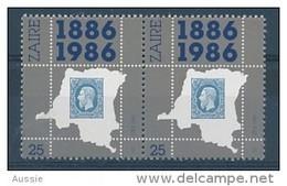 Zaire 1986 OBCn° 1306A Se Tenant *** MNH  Cote 3,75 Euro - Zaïre