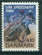 Bm Denmark 1988 MiNr 925 MNH | World Speedway Championships - Unused Stamps