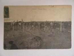 Guerre 14-18 - Verdun - Cimetière Fleury - Carte Circulée En 1920 - E. PAULET Verdun - Oorlogsmonumenten