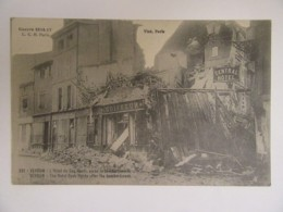 Guerre 14-18 (14-17) - Verdun N°531 - Hôtel Du Coq Hardi, Après Le Bombardement - Carte Circulée Le 9 Octobre 1917 - Guerre 1914-18